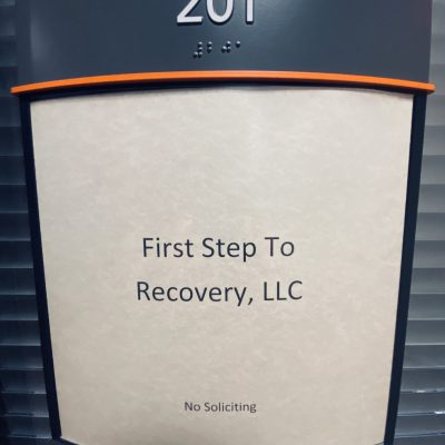 First Step to Recovery Treatment Center - Office Door